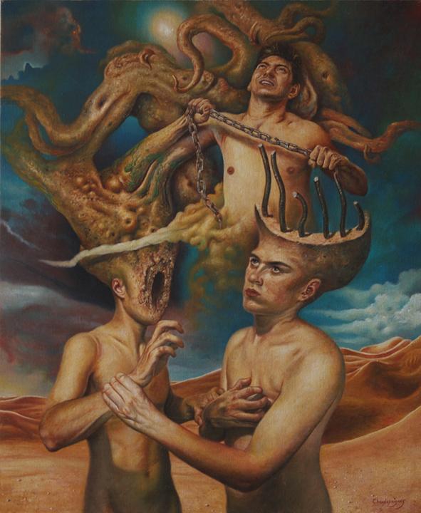 art-fantastique-chaudesaigues-psychorealisme-agoraclaustrophobia-