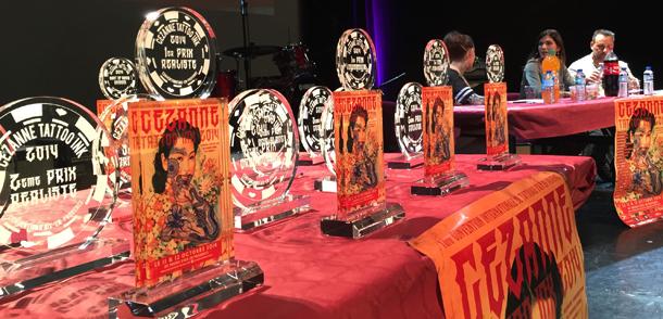 Concours de tatouageà la convention d'Aix-en-provence
