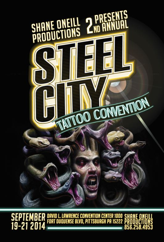 Steel city tattoo convention 2014 agenda blog st phane for Pittsburgh tattoo convention