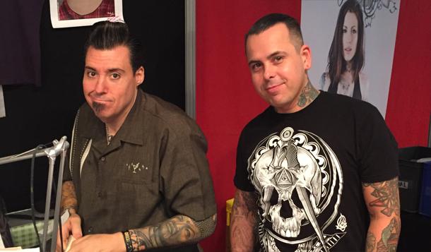 Joe Capobianco et Jime Litwalk à la convention de tatouage d'Aix