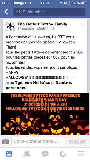 """Tatouages dans un magasin de vêtements : """"C'est scandaleux"""" selon un membre du syndicat des tatoueurs"""
