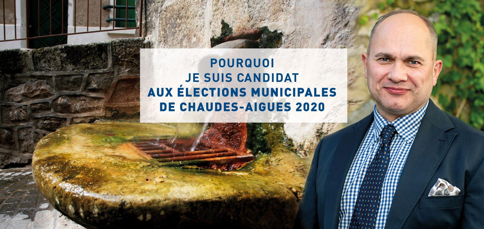 Pourquoi Je Suis Candidat Aux Elections Municipales De 2020